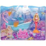 Barbie in the Pearl Princess Small Doll Blonde Mermaid with Furniture
