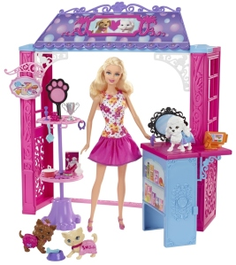 Barbie MALIBU AVE.™ Pet Boutique + Doll flyer