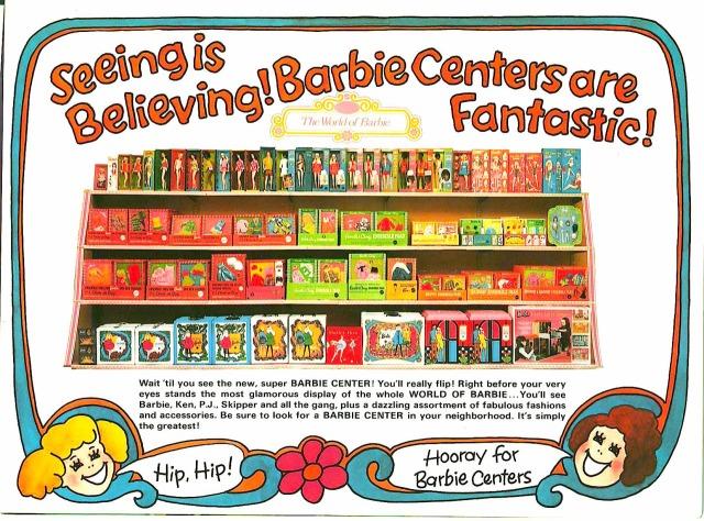 Barbie Mod serie in the shop