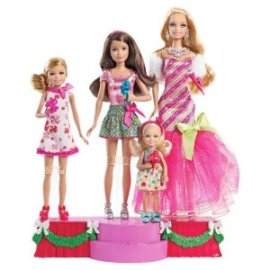 Barbie Sisters A PERFECT CHRISTMAS Giftset