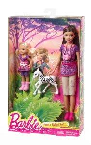 Barbie Sisters Safari Fun Skipper and Chelsea Doll 2-Pack