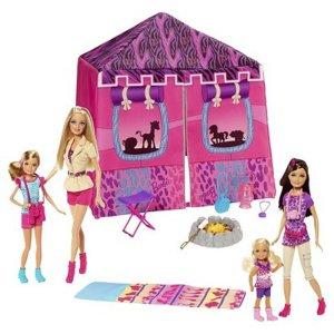 Barbie SistersTent Buildup