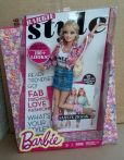 BARBIE STYLE BARBIE FLORAL w Fashion Book New .WAVE 02