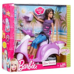 Barbie - Teresa Doll and Scooter Vehicle n