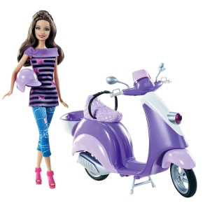 Barbie - Teresa Doll and Scooter Vehicle