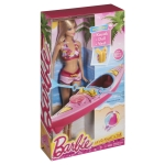Barbie® Beach Doll and Kayak n