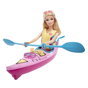 BARBIE® BEACH DOLL AND KAYAK