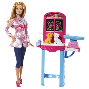 BARBIE® Careers Complete Play Pet Vet