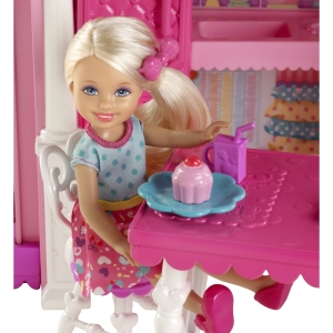 BARBIE® CHELSEA® Clubhouse! close up doll