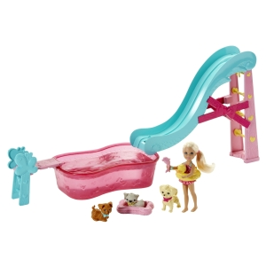 BARBIE® CHELSEA® FLIPPIN' PUP POOL!™ Playset