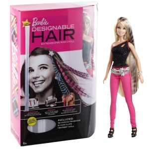 Barbie® Designable Hair Extension Pack with Doll