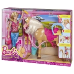 BARBIE® doll and TAWNY™ Horse
