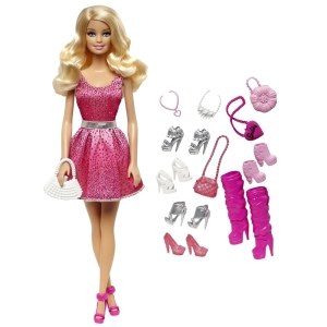BARBIE® DOLL & Shoes blonde