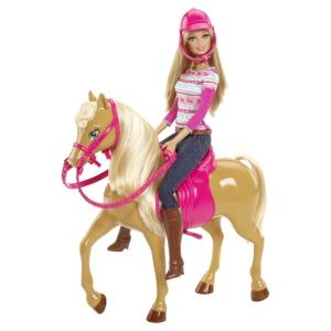 BARBIE® Doll & TAWNY™ Horse