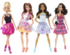 BARBIE® & FRIENDS Fashionista® 4-Pack flyer