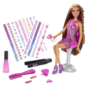 BARBIE® HAIR TATTOOS™ Doll2