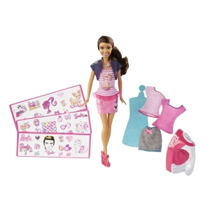 BARBIE® IRON-ON STYLE™ Doll