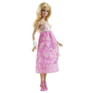 BARBIE® PINK & FABULOUS™ Doll - Flower Gown flyer