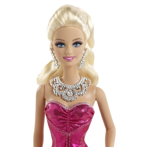 BARBIE® PINK & FABULOUS™ Doll - Mermaid Gown face