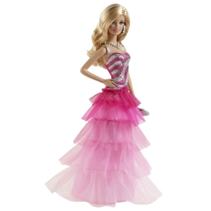 BARBIE® PINK & FABULOUS™ Doll - Ruffle Gown flyer