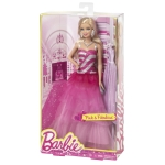BARBIE® PINK & FABULOUS™ Doll - Ruffle Gown NRFB