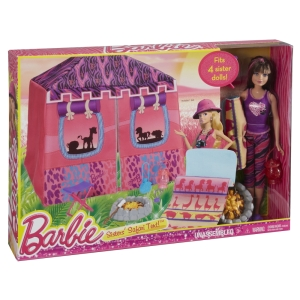 BARBIE® SISTERS' SAFARI TENT!™ NRFB