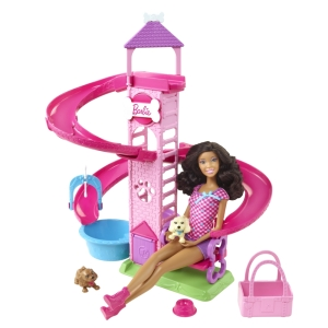 BARBIE® SLIDE & SPIN PUPS!™ Playset