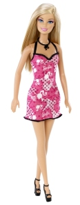 BARBIE™ Doll-Pink and Black Party Dress 3