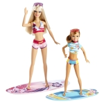 Barbie™ Life in the Dreamhouse The Amaze Chase™ Barbie® & Stacie® Dolls (Surfing) flyer2