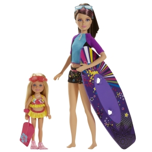 Barbie™ Life in the Dreamhouse The Amaze Chase™ Skipper® & Chelsea® Dolls (Surfing)