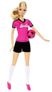 #BDT25 Barbie Careers Soccer Player - Flyer