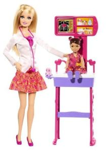 BDT49 Barbie Careers Doctor Playset 2