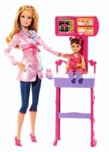BDT49 Barbie Careers Doctor Playset
