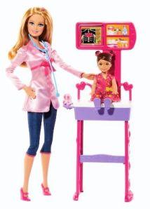 BDT49 Barbie Careers Doctor Playset