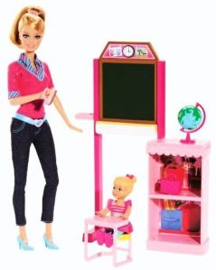 BDT51 Barbie Careers Teacher Playset