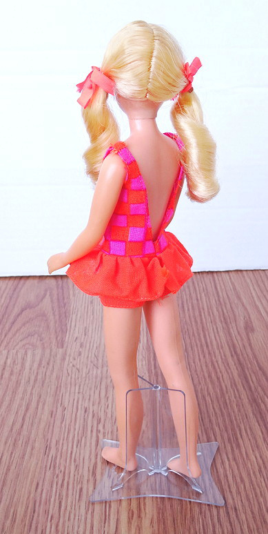 Blonde Hair Sausage Curl Twist N Turn TnT Skipper Doll