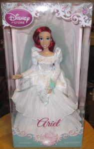 Disney Store Once Upon a Wedding ARIEL doll from The Little Mermaid