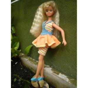 Doll was only available in Brazil. Made in Brazil.