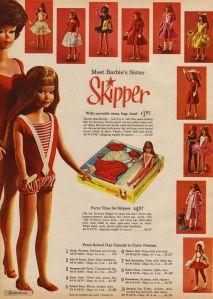 1964 First AD Mattel USA from Skipper