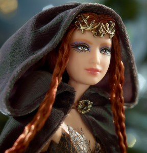 Faraway Forest™ Elf Barbie® Doll face