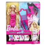 Fashion Design Plates BARBIE® Doll NRFB