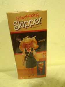 Going Skipper Barbie Doll India Foreign Issue NRFB #1284 back