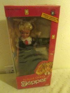 Going Skipper Barbie Doll India Foreign Issue NRFB #1284