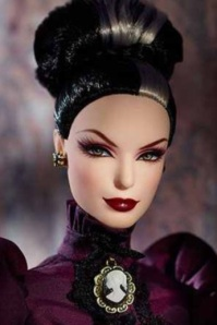 Haunted Beauty Mistress of the Manor™Barbie® Doll face