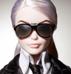 Karl Lagerfeld Barbie®Doll face