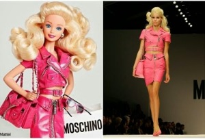 Moschino Barbie flyer