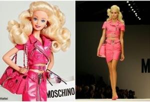 Moschino Barbie flyer