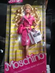 Moschino Barbie NRFB