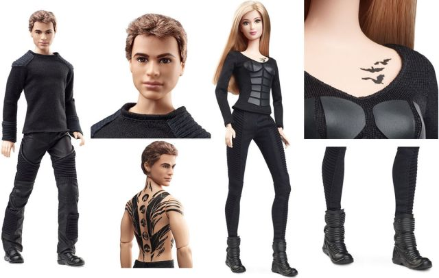 Movie Tris and Four Barbie Dolls flyer