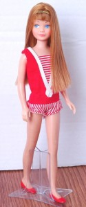 Redhead Titian Re-Issue Vintage Straight Leg Skipper Doll